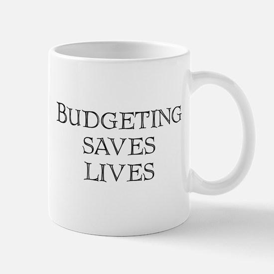 Budgeting saves lives Mug
