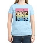 108b. grandpa to be [black on Women's Pink T-Shirt