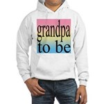 108b. grandpa to be [black on Hooded Sweatshirt