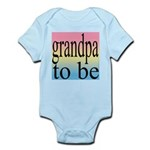 108b. grandpa to be [black on Infant Creeper