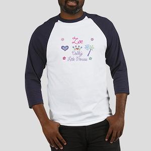 Zoe - Daddy's Princess Baseball Jersey