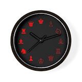 Chess Wall Clocks