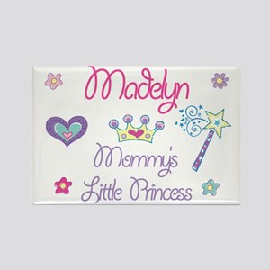 Madelyn - Mommy's Princess Rectangle Magnet