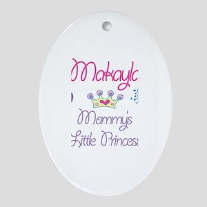 Makayla - Mommy's Princess Oval Ornament
