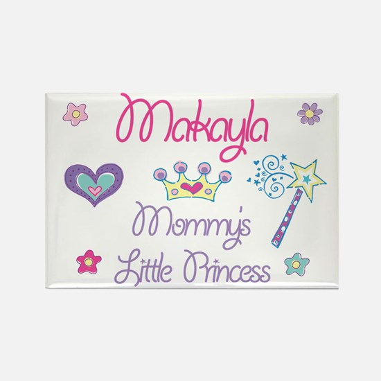 Makayla - Mommy's Princess Rectangle Magnet