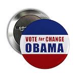"""Vote for Change Obama 2.25"""" Button"""