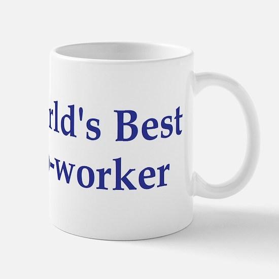 World's Best Co-worker Mug