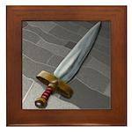 Sword Framed Tile