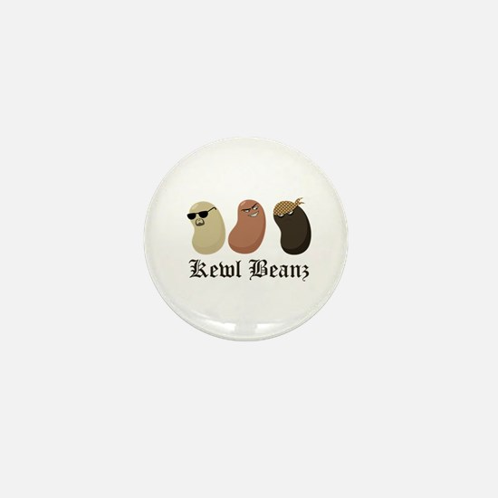 """Kewl Beanz"" Mini Button"