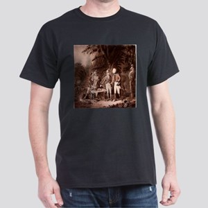 The Swamp Fox Digitally Remas Dark T-Shirt