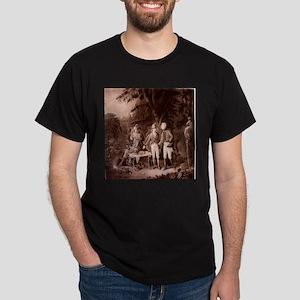 The Swamp Fox Digitally Remas Dark T-Shirt