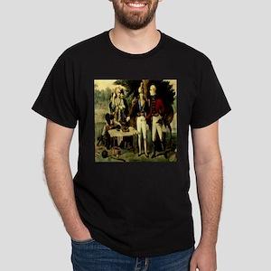 Swamp Fox Engraving Currie & Dark T-Shirt