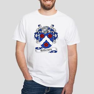 Gillespie Family Crest White T-Shirt