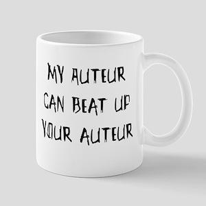 My auteur can beat up... Mug