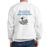 Too Many Cats Sweatshirt