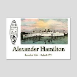 Alexander Hamilton Mini Poster Print