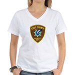 Coos County Sheriff Women's V-Neck T-Shirt