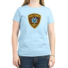 Coos County Sheriff Women's Light T-Shirt