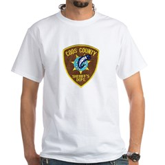 Coos County Sheriff White T-Shirt