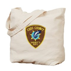 Coos County Sheriff Tote Bag