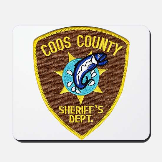 Coos County Sheriff Mousepad