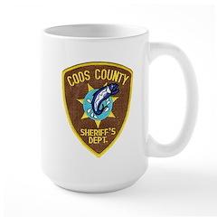 Coos County Sheriff Large Mug