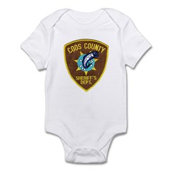 Coos County Sheriff Infant Bodysuit