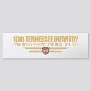 10th Tennessee Infantry Bumper Sticker