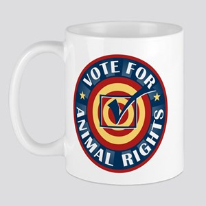 Vote for Animal Rights Mug