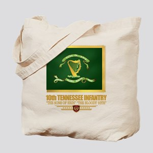 10th Tennessee Infantry Tote Bag