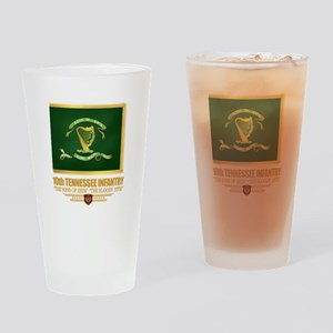 10th Tennessee Infantry Drinking Glass