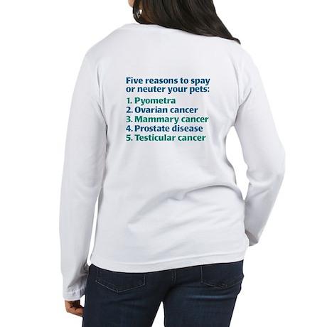 Five Reasons Women's Long Sleeve T-Shirt