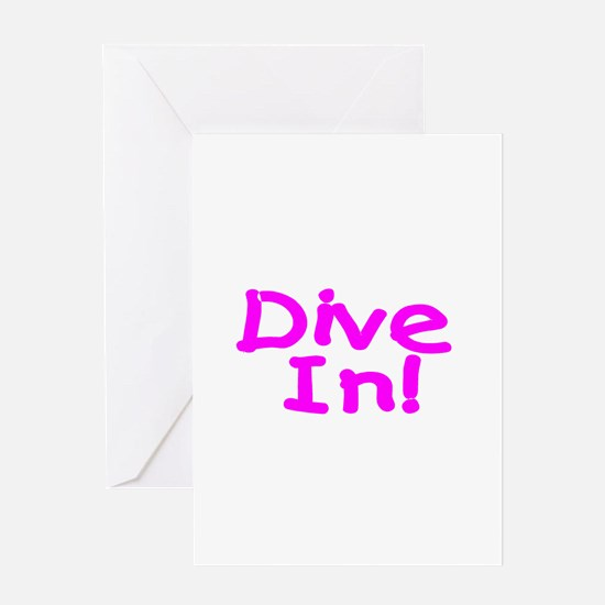 Dive In! Greeting Card