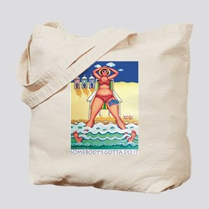 Beach Research Tote Bag