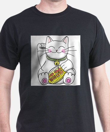 lucky Money Cat T-Shirt