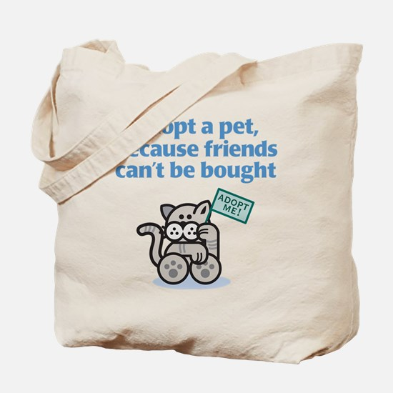 Adopt a Pet (Cat) Tote Bag