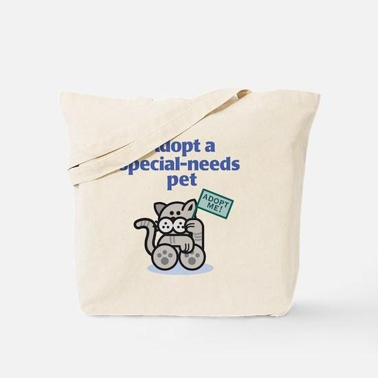 Special-Needs Pet (Cat) Tote Bag