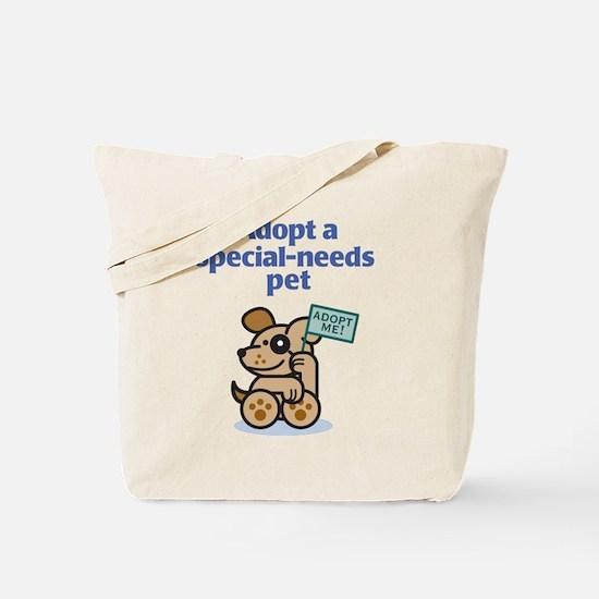Special-Needs Pet (Dog) Tote Bag