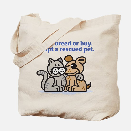 Don't Breed Tote Bag