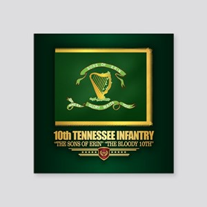 10th Tennessee Infantry Sticker