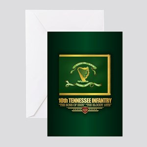 10th Tennessee Infantry Greeting Cards