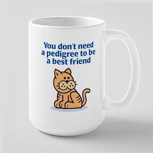 Pedigree (Cat) Large Mug