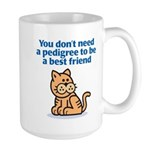 Pedigree (Cat) Large Mug