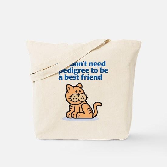 Pedigree (Cat) Tote Bag