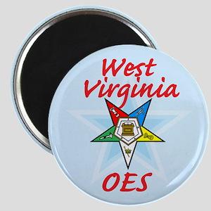 West Virginia Eastern Star Magnet