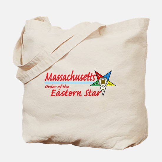 Massachusetts Eastern Star Tote Bag