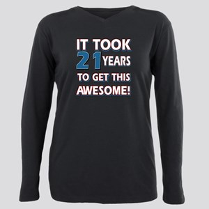 21 Year Old Birthday Designs T Shirt