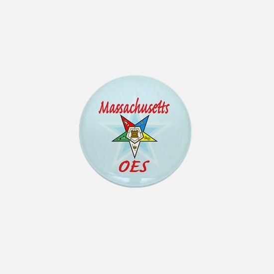 Massachusetts Eastern Star Mini Button (10 pack)
