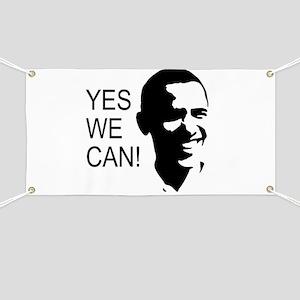 Obama's Face: Banner