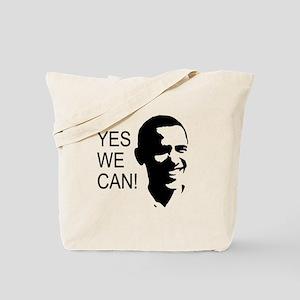 Obama's Face: Tote Bag